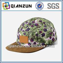 Atractive custom 5 panel snapback cap