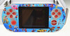 Special design:the colorful front panel China handheld game console-PMP4