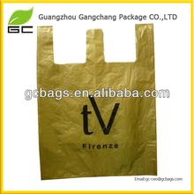fashion plastic printing t-shirt shipping bag
