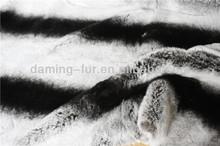 Top quality rex rabbit fur chinchilla skin