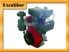 small air and water cooled diesel engine 190FW 12hp