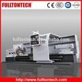 Chino FULLTONTECH CKF61 serie larga cama del CNC de alta resistencia Horizontal torreta torno