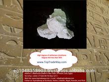 Whiteness degree of Calcium Carbonate