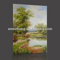 Un magnifique paysage naturel décoratif peinture à l'huile