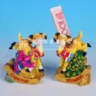 Yong feng xiang 2015 chinese zodiac symbols resin sheep money box for 2015new year souvenir ,christmas gifts su4004Y 4 1/10inch