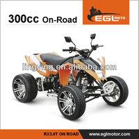 ATV with EEC on road 300 cc racing atv
