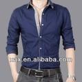 2014 nuevo diseño coreano de moda camisa para los hombres