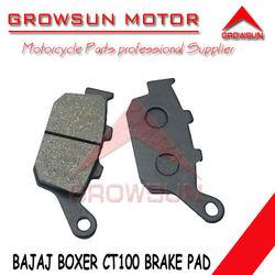 Motorcycle parts Brake Pad for Bajaj Boxer CT100 motorcycle