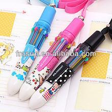Cartoon Mini Big Short Type Popular Fat Plastic Ball Pens