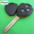 Heißer verkauf toyota smart key-programmierer für 3 Tasten toyota camry funkschlüssel shell toy43 autoschlüssel leer& toyota funkschlüssel