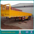 de carga lateral del remolque compañía con una fuerte chasis de camiones de remolque