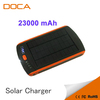 23000mah solar emergency charger for Laptop