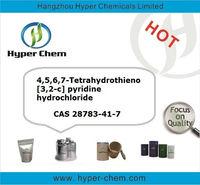 HP8049 Prasugrel intermediate 4,5,6,7-Tetrahydrothieno[3,2-c] pyridine hydrochloride CAS 28783-41-7