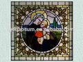ألواح زجاج النوافذ الملون بناء الكنيسة
