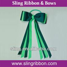 Elastic Hair Ribbon, Satin or Grosgrain Ribbon Bow