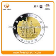 Euro old europe souvenir coin