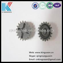 Crown wheel and pinion gear bevel gear