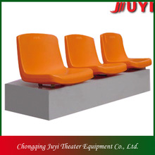 BLM-1311 CE factory price plastic stadium seat sport seating floor chairs with back support