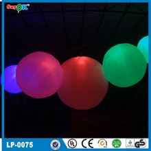 Sampling with led light inflatable big balloons