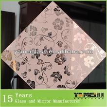 Many unquie design mirror etching pattern