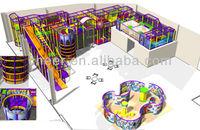 Cheer Amusement Indoor Softpaly Ground Equipment