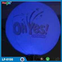 Sweet led lighting hanging inflatable air star balloon