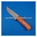 laranja pakka punho multifunções resgate caça sobrevivência açoinoxidável faca de caça