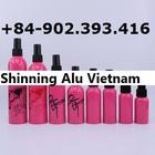 Cosmetic aluminum bottle