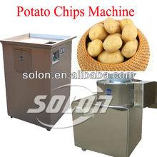 Fresh potato machine for cutting/slicing potato chips/french fries/shredding machine