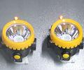 Lux 10000 3ah grande capacité sans fil lampe de chapeau mineurs, tête de la lampe minière