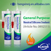 High Quality Excellent Adhesion Neutral Metal To Metal Silicone Sealant