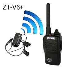 portable radio with bluetooth UHF 5W FM transceiver ZASTONE ZT-V6+ walkie talkie
