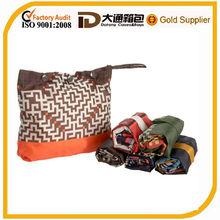 custom nylon/polyester shopping bag foldable