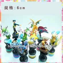 New Style Pokemon Action Figure 10pcs a set Wholesale Fashion Anime Cos Pokemon Action Figure