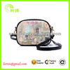 Spring fashion trendy school leather satchel bag for girls