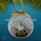 Snow globe hang ornaments