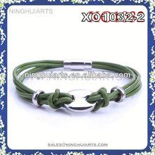 Classical green wrap bracelet clip wholesale products