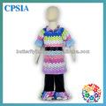 2014 nuovo bambino natale abito di cotone& battente& collana di fashion design per bambine