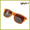 Custom plastic orange sunglasses for holland with EN1836