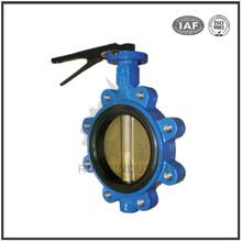 Dalian manufacturers custom wafer butterfly valve dn250