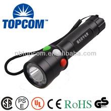 railway white/red/green cree led signal flashlight