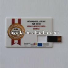 Credit card usb stick , namecard usb flash drive/cardusb flash memory LFNC-004