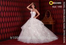 Nazarel 2014 Hot Model Weddeing Gown