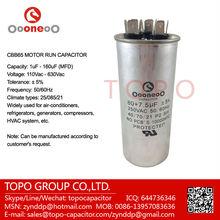 CBB65 AIR CONDITIONER CAPACITOR WITH 250V 370V 440V 450V 500V