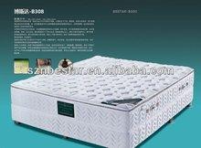 High quality pillow top memory foam pocket spring mattress