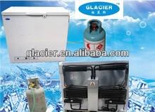 XD-200 deep chest propane/natural gas/LPG gas powered refrigerator
