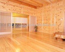 interior t&g paulownia wood boards/log homes