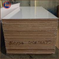 White high gloss acrylic mdf board