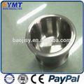 99.95% pulido de tungsteno crisol de cuarzo para el vidrio del horno de fusión