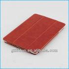 Reduced red semi-enclosed cover case for ipad mini